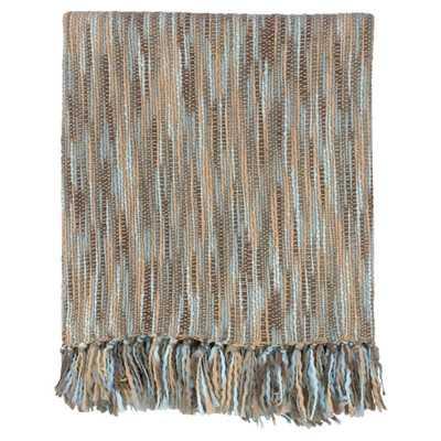 Charisma Striped Throw Blanket - Wayfair