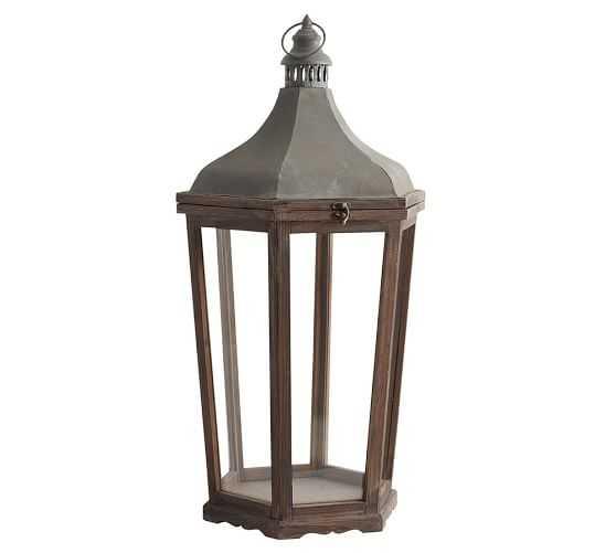 Park Hill Lantern, Large - Pottery Barn