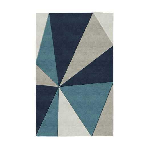 Kaleidoscope Wool Rug - 5' x 8' - West Elm