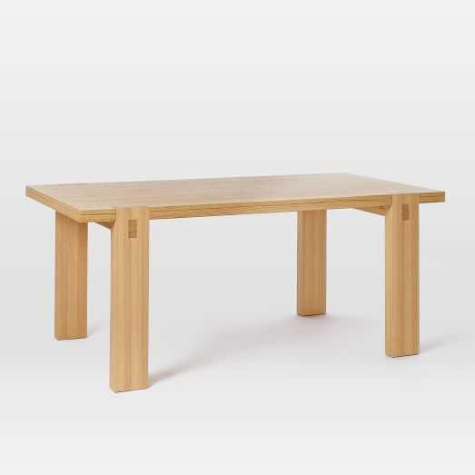 Modern Woodwork Dining Table - West Elm