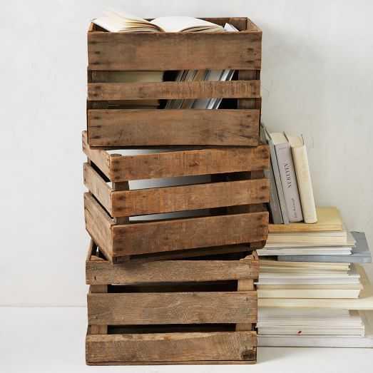 Apple Crate - West Elm