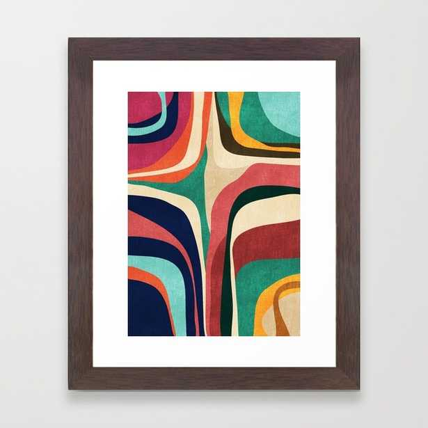 """Impossible contour map - 10"""" X 12"""" - Framed - Society6"""
