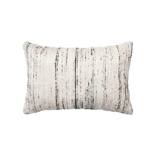 """Lumbar Silver Pillow - 13"""" H x 21"""" W - AllModern"""