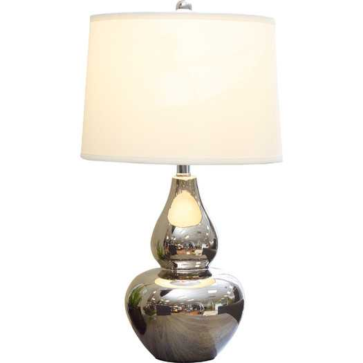 """25.75"""" H Table Lamp with Empire Shade - AllModern"""