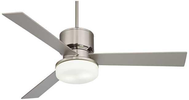 "56"" Casa Invaderâ""¢ Brushed Nickel Ceiling Fan - Lamps Plus"