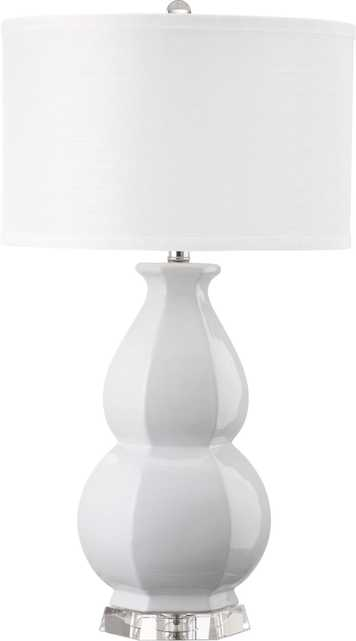 JUNIPER WHITE TABLE LAMP - Arlo Home