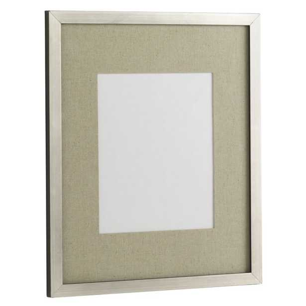 "Gallery 14"" x 17"" Frame - Antique Silver - West Elm"