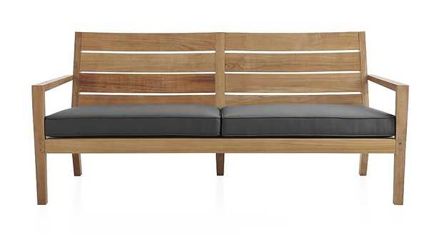 Regatta Sofa with Sunbrella ® Cushion - Crate and Barrel