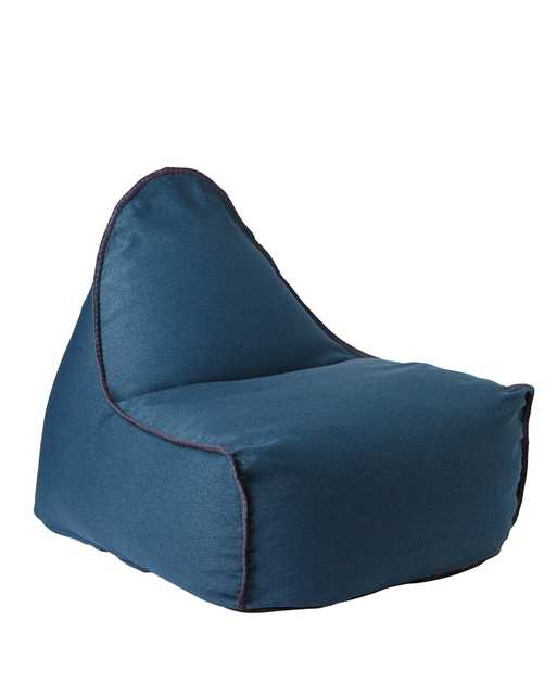 Newport Lounger - Navy - Serena and Lily