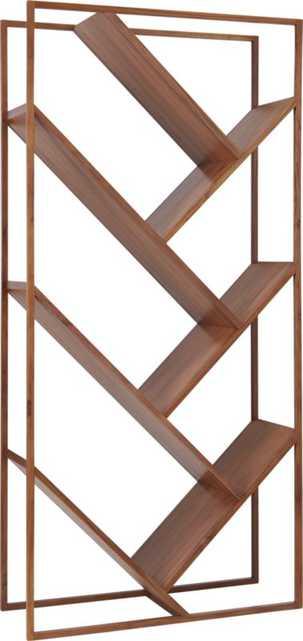 V bookcase-room divider - CB2