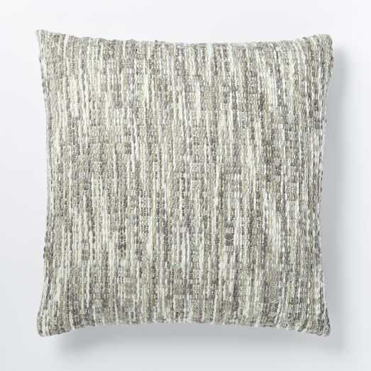 """Luxe Textured Pillow Cover - 24""""sq. - Insert sold separately - West Elm"""