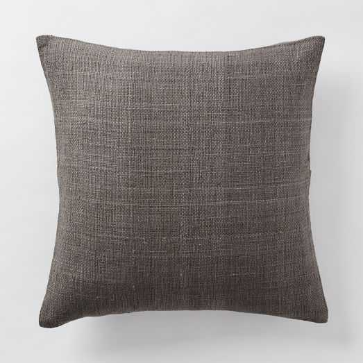 """Silk Hand-Loomed Pillow Cover - 20""""x20"""" - Insert Sold Separately - West Elm"""