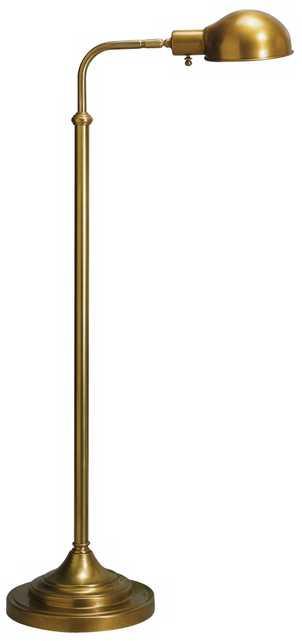 Robert Abbey Kinetic Antique Brass Pharmacy Floor Lamp - Lamps Plus