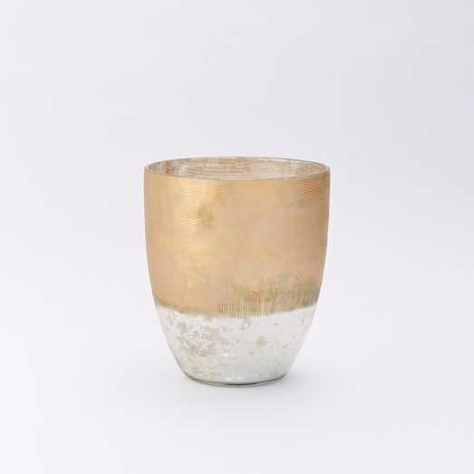 Textured Mercury Vases - Medium Tall - West Elm