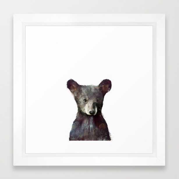 """Little Bear - FRAMED 12"""" X 12"""" MINI ART PRINT - Society6"""