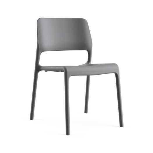 Spark Side Chair - Dark Grey - AllModern
