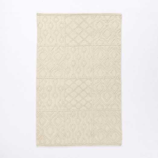 Variegated Knot Wool Rug - West Elm