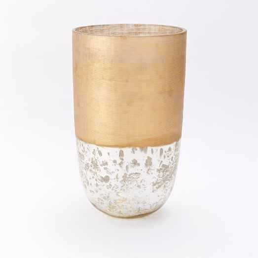 Textured Mercury Vases - Tall - West Elm