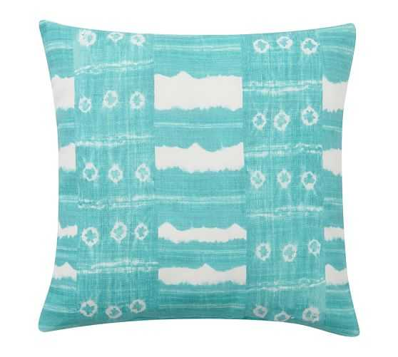 Zuma Stripe Indoor/Outdoor Pillow - Cozumel, 22x22, With Insert - Pottery Barn