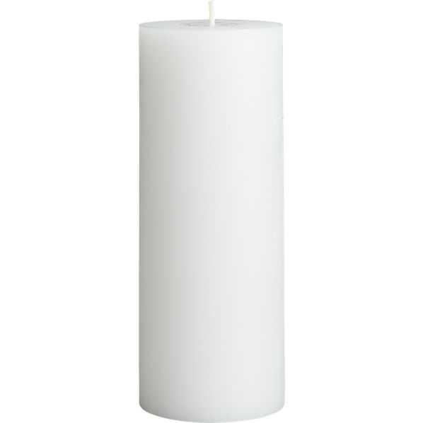 "3""x8"" pillar candle - CB2"