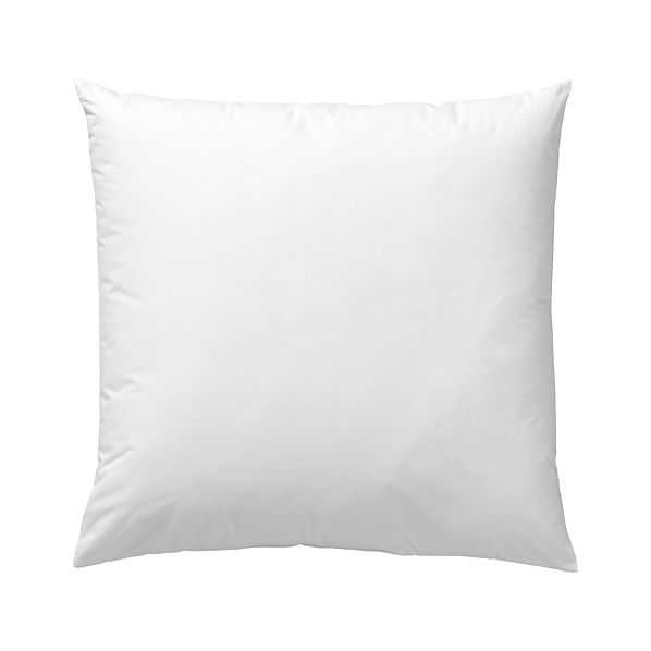 Down-Alternative Pillow Insert - 20x20 - Crate and Barrel