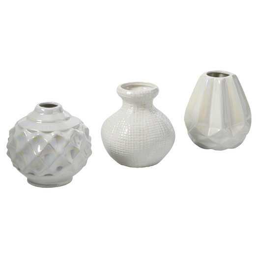 Sila 3 Piece Ceramic Vase Set - AllModern