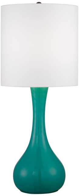 Turquoise Kiss Table Lamp - Lamps Plus