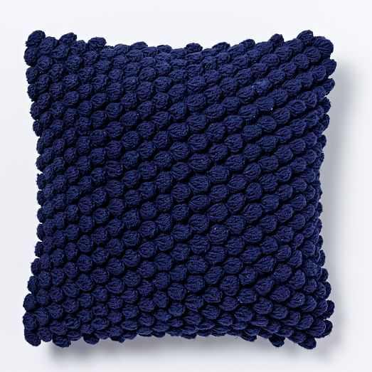 """Bubble Knit Pillow Cover-16""""sq-no insert - West Elm"""
