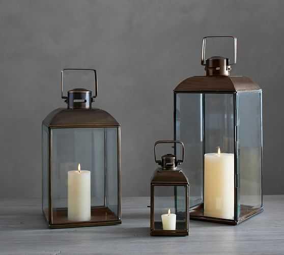 Kistler Lanterns - Pottery Barn