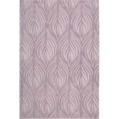 "Contour Lavender Area Rug - 5' x 7'6"" - Wayfair"