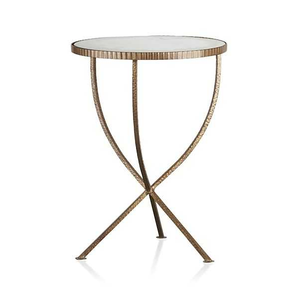 Jules Small Accent Table - Crate and Barrel