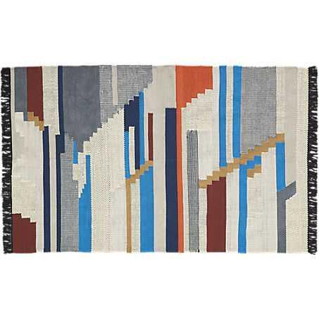 building blocks rug 8'x10' - CB2