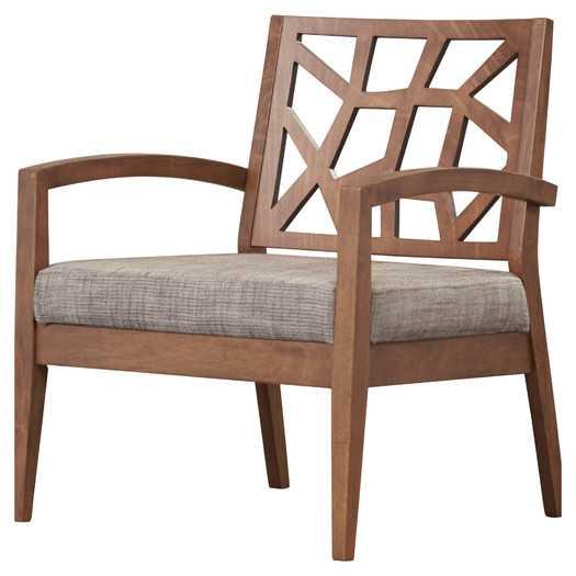 Arm Chair by Mercury Row - Grey - AllModern
