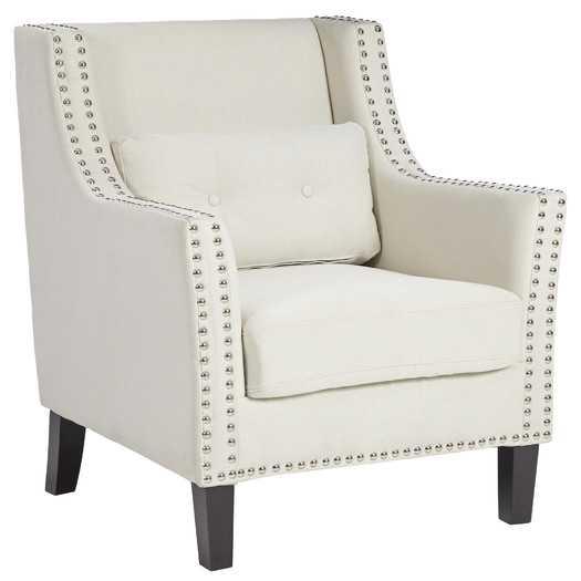 Percy Club Chair - Ivory - AllModern