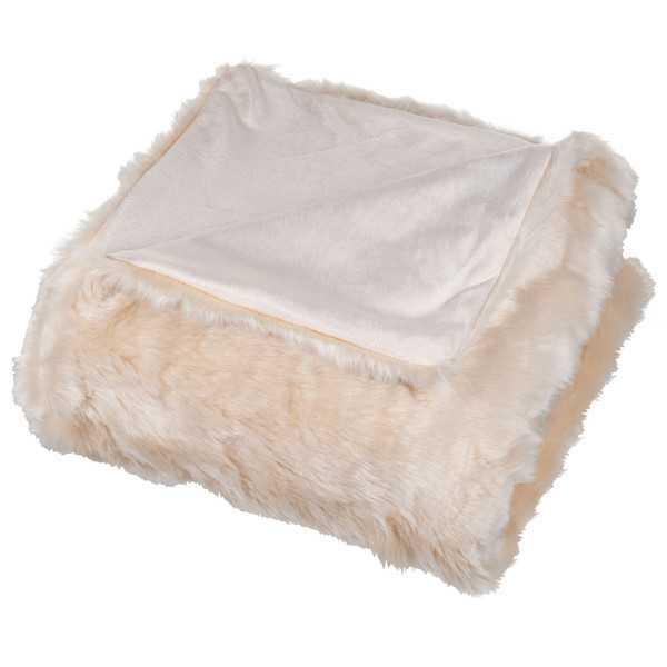 Faux Fur Throw Blanket - Wayfair