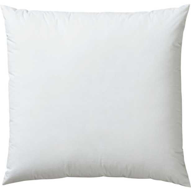 Down alternative pillow insert - CB2