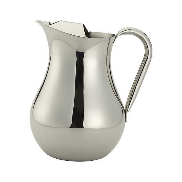 Stainless Pitcher - Crate and Barrel