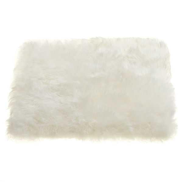 icelandic sheepskin chair cushion - CB2