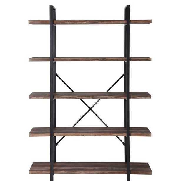Theobald Industrial Etagere Bookcase - Wayfair