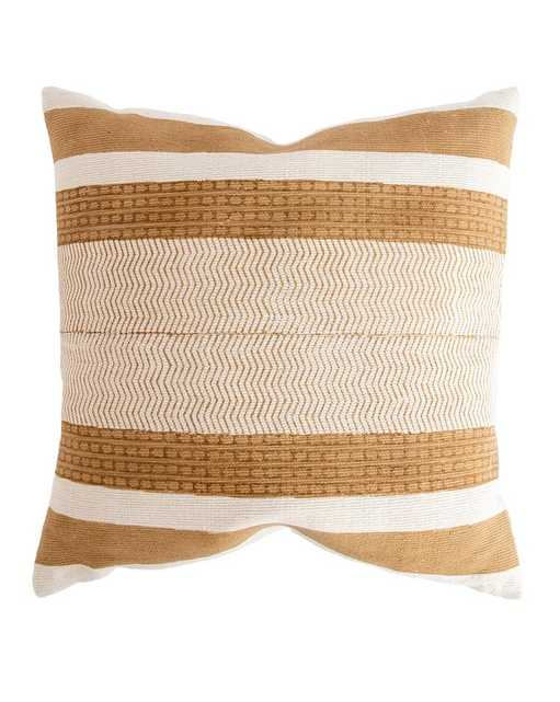 """NONU PILLOW WITH DOWN INSERT, 20"""" x 20"""" - McGee & Co."""