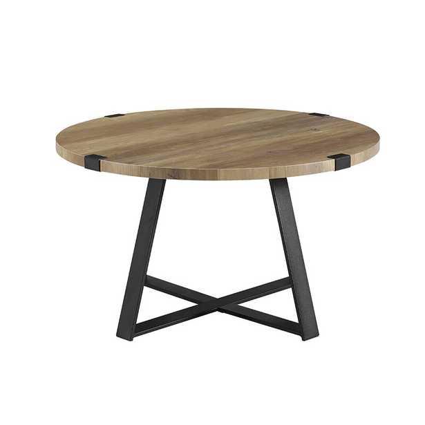 Enrique Cross Legs Coffee Table - Wayfair