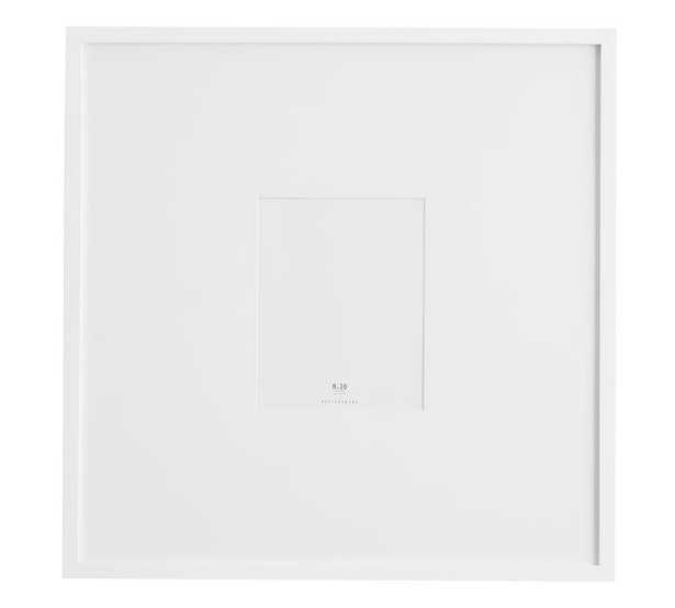 """Wood Gallery Oversized Frame, 8 x 10 (25""""x25"""" without mat), white - Pottery Barn"""