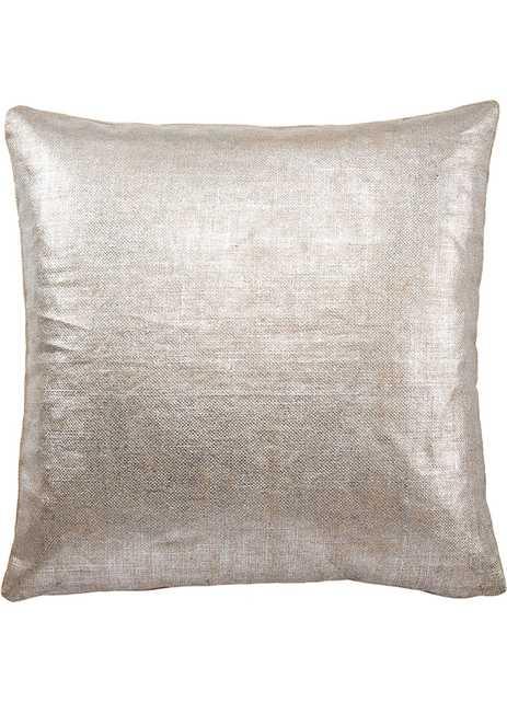 "SHM02 - Shimmer Pillow - 18""x18"" - down insert - Collective Weavers"