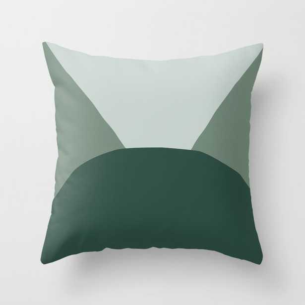 Deyoung Eucalyptus Throw Pillow - Society6
