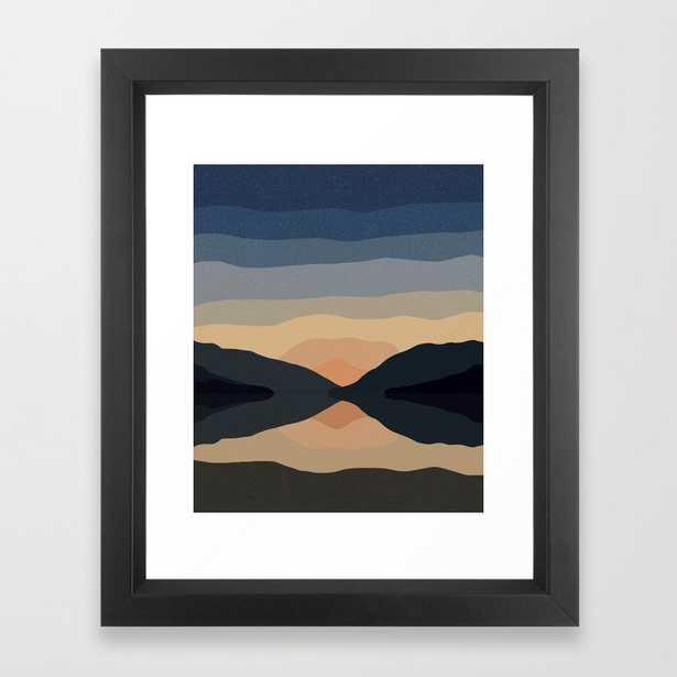 Sunset Mountain Reflection - Society6