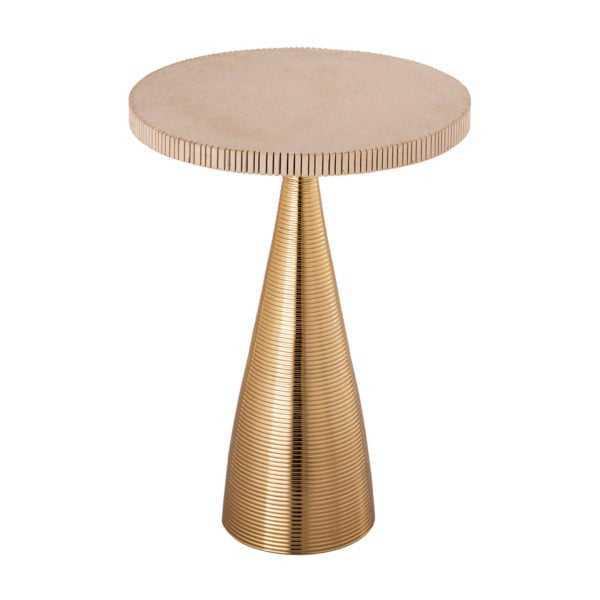 Celeste Ribbed Side Table - Maren Home