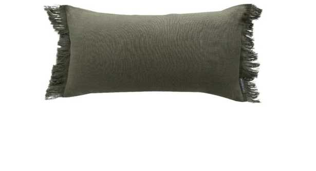 Hazelton Pine Fringed Pillow Cover - McGee & Co.