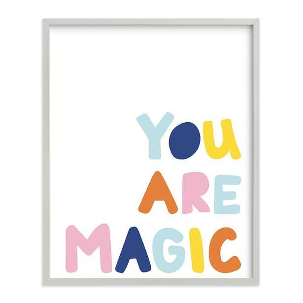 """You are Magic, Light Gray Wood Frame, 16""""x20"""" - West Elm"""