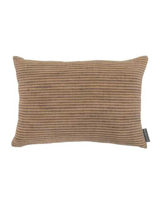 Devin Silk Stripe Pillow Cover - McGee & Co.