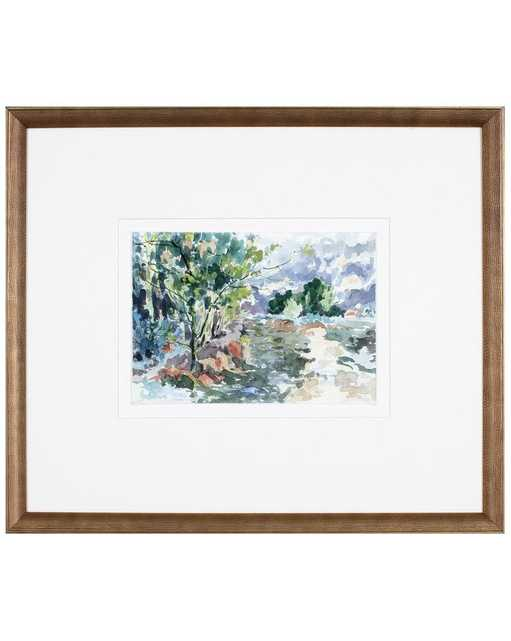 WOODNOTE 1 Framed Art - McGee & Co.